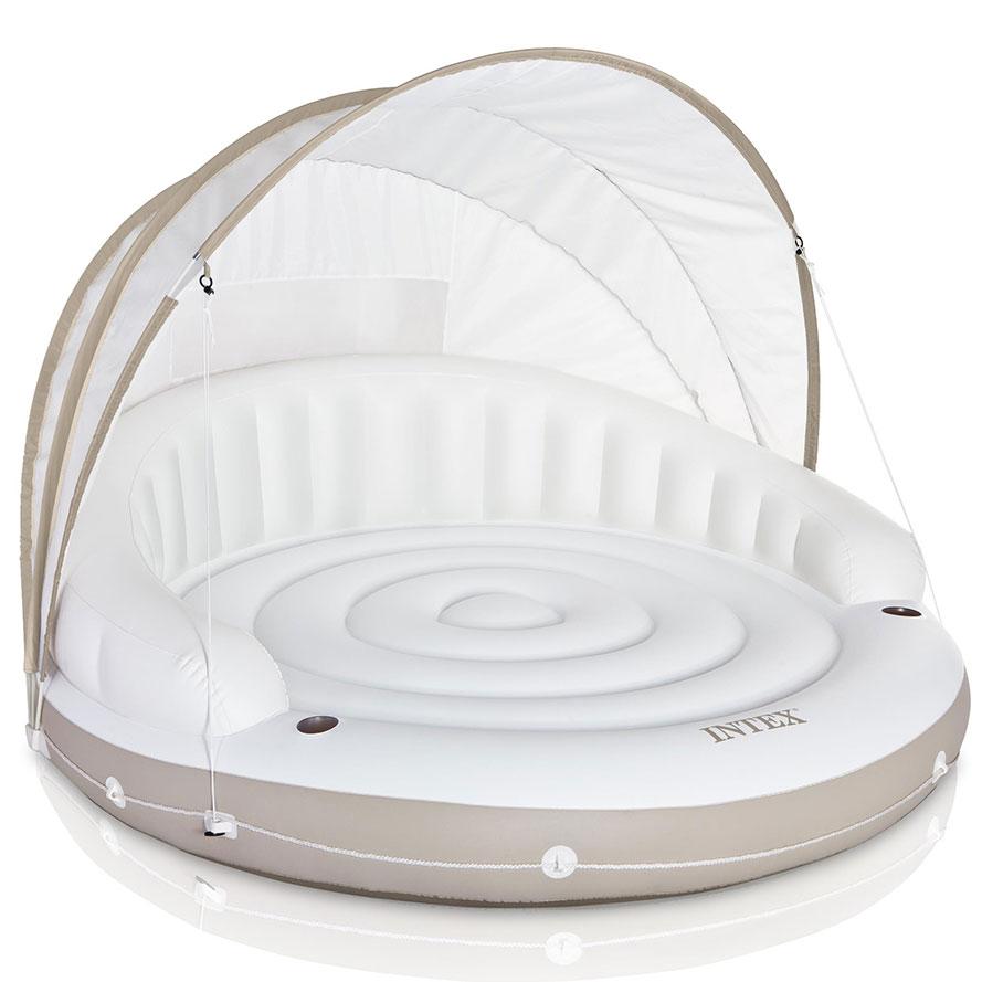 Intex Canopy opblaasbare luchtbed