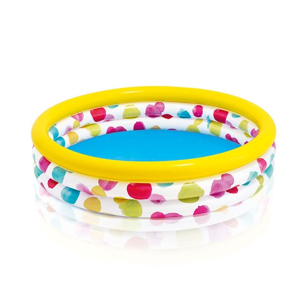 Intex Cool Dots Pool kinderzwembad 114 x 25 cm