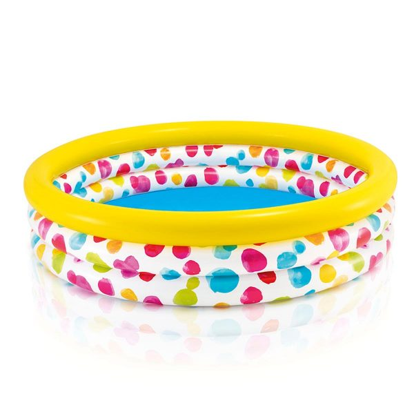 Intex Cool Dots Pool kinderzwembad 168 x 38 cm