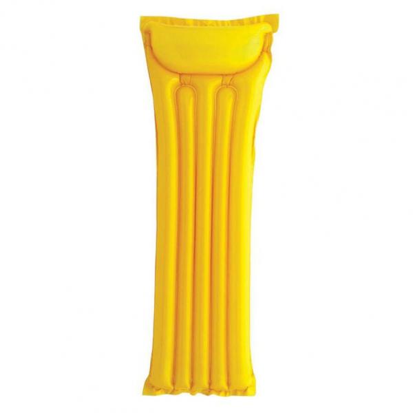 Intex Economats opblaasbare luchtbed geel
