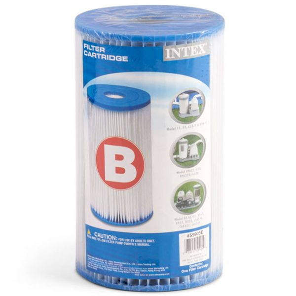 Intex filter cartridge - Type B