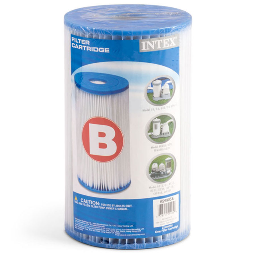 Intex filter cartridge - Type B
