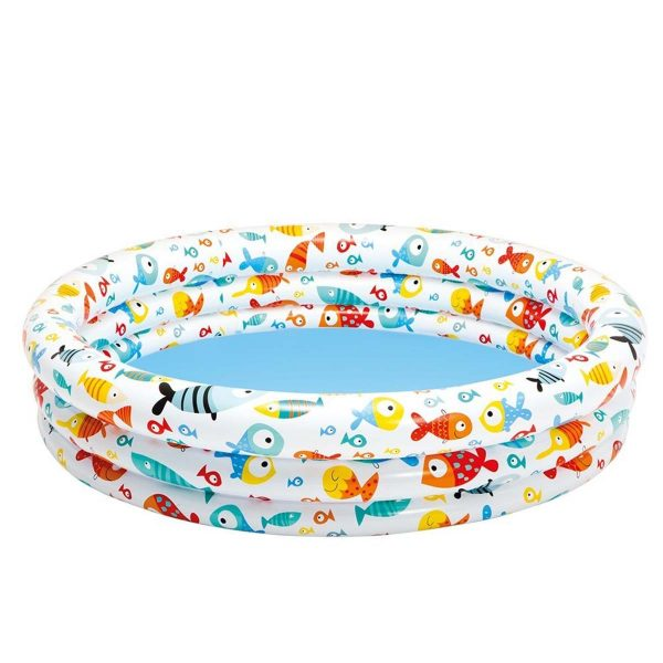 Intex Fishbowl Pool kinderzwembad 132 x 28 cm