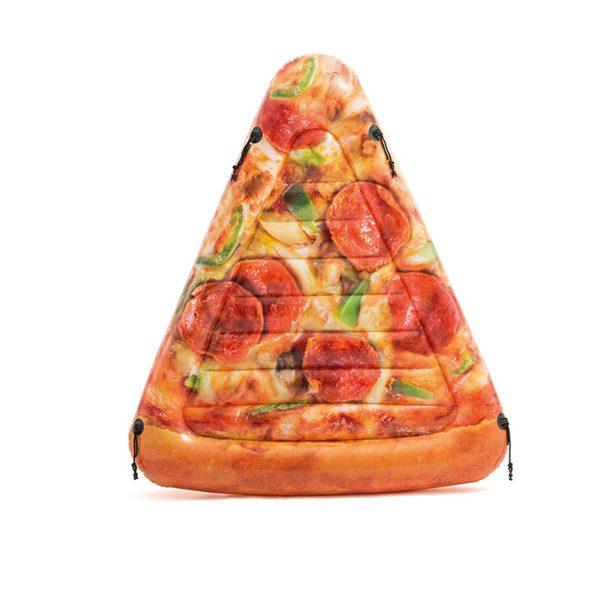 Intex opblaasbaar pizza luchtbed (191 cm)