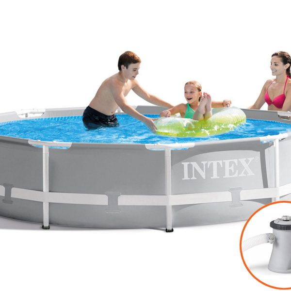 Intex Prism Frame Pool - 305 x 76 cm - met filterpomp