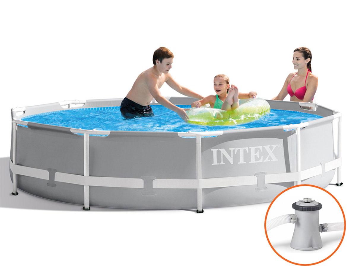 Intex Prism Frame Pool - 305 x 76 cm - met filterpomp