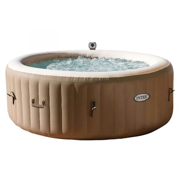 Intex Pure Spa Bubble Therapy opblaasbare jacuzzi 6 persoons