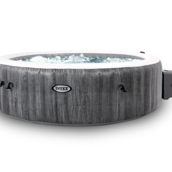 Intex Pure Spa Greywood Deluxe opblaasbare jacuzzi 4 persoons