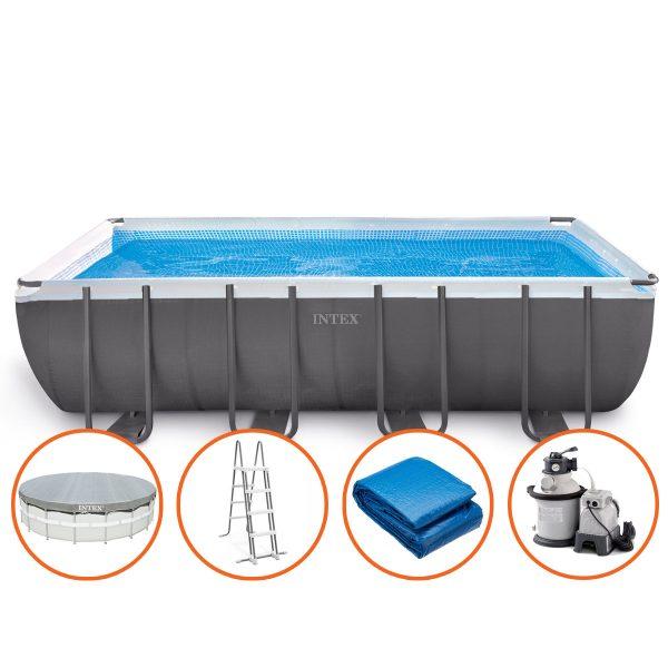 Intex Ultra XTR Frame Zwembad - 549 x 274 x 132 cm - met zandfilterpomp en accessoires