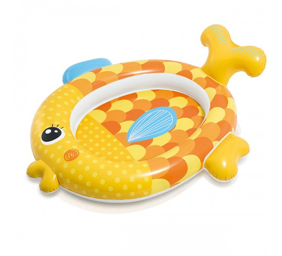 Intex baby zwembad friendly goldfish