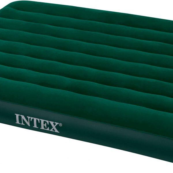 Intex Prestige Downy Full Luchtbed met voetpomp - 2-persoons