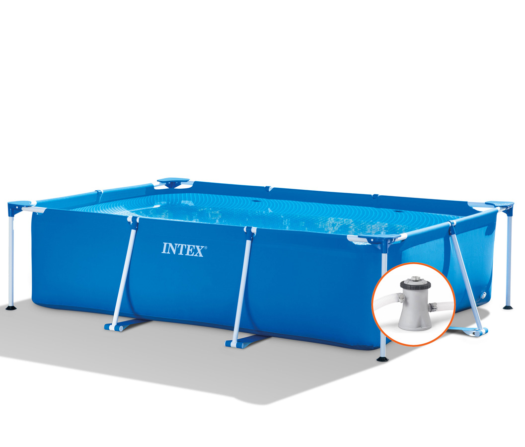 Intex Metal Frame Pool - 260 x 160 x 65 - met filterpomp