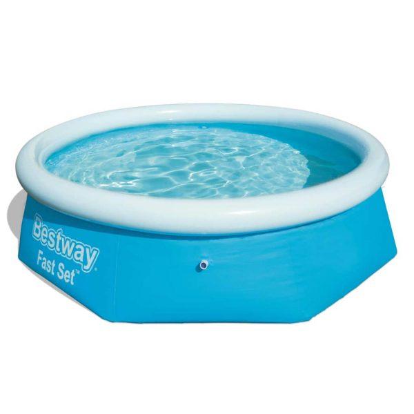 Bestway Fast Set Zwembad Opblaasbaar Rond 244x66 cm 57265